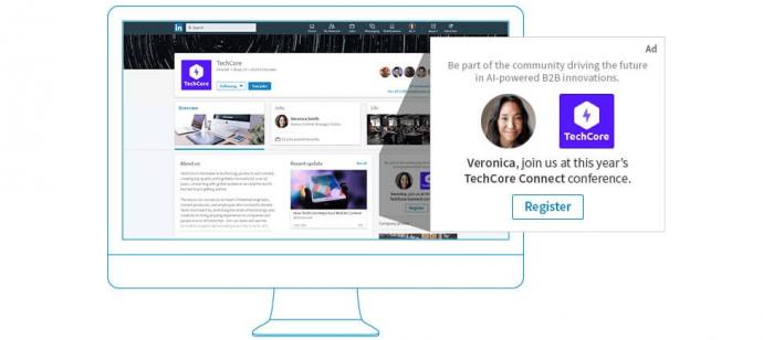 Spotlight advertentie binnen LinkedIn adverteren