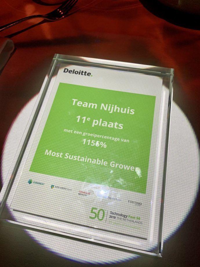 Deloitte Fast 50 - Award