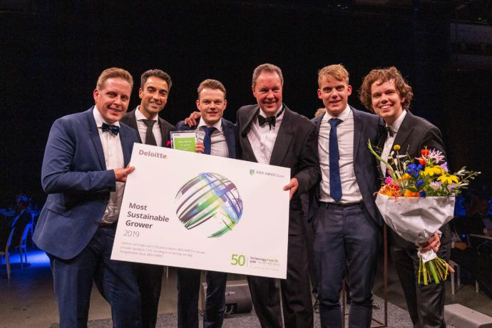 Team Nijhuis Deloitte Technology Fast 50 - 2019
