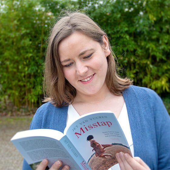 Junior digital marketing expert Kirsty Guelen Team Nijhuis