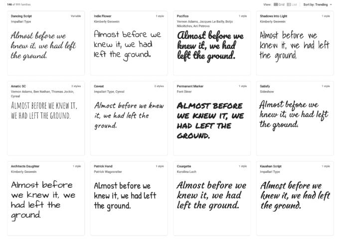 Team Nijhuis - Fonts Handwritten