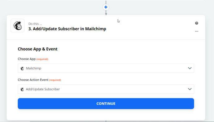 Mailchimp marketing automation
